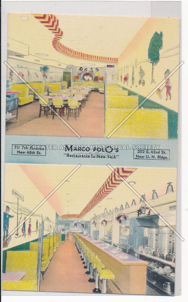 "Marco Polo's ""Restaurants In New York"""