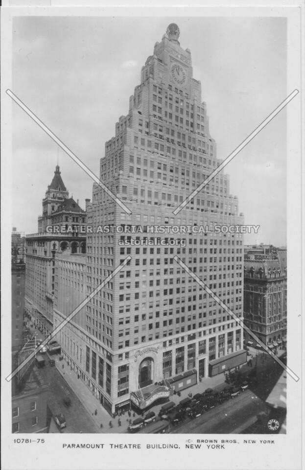 Paramount Theatre Building, New York