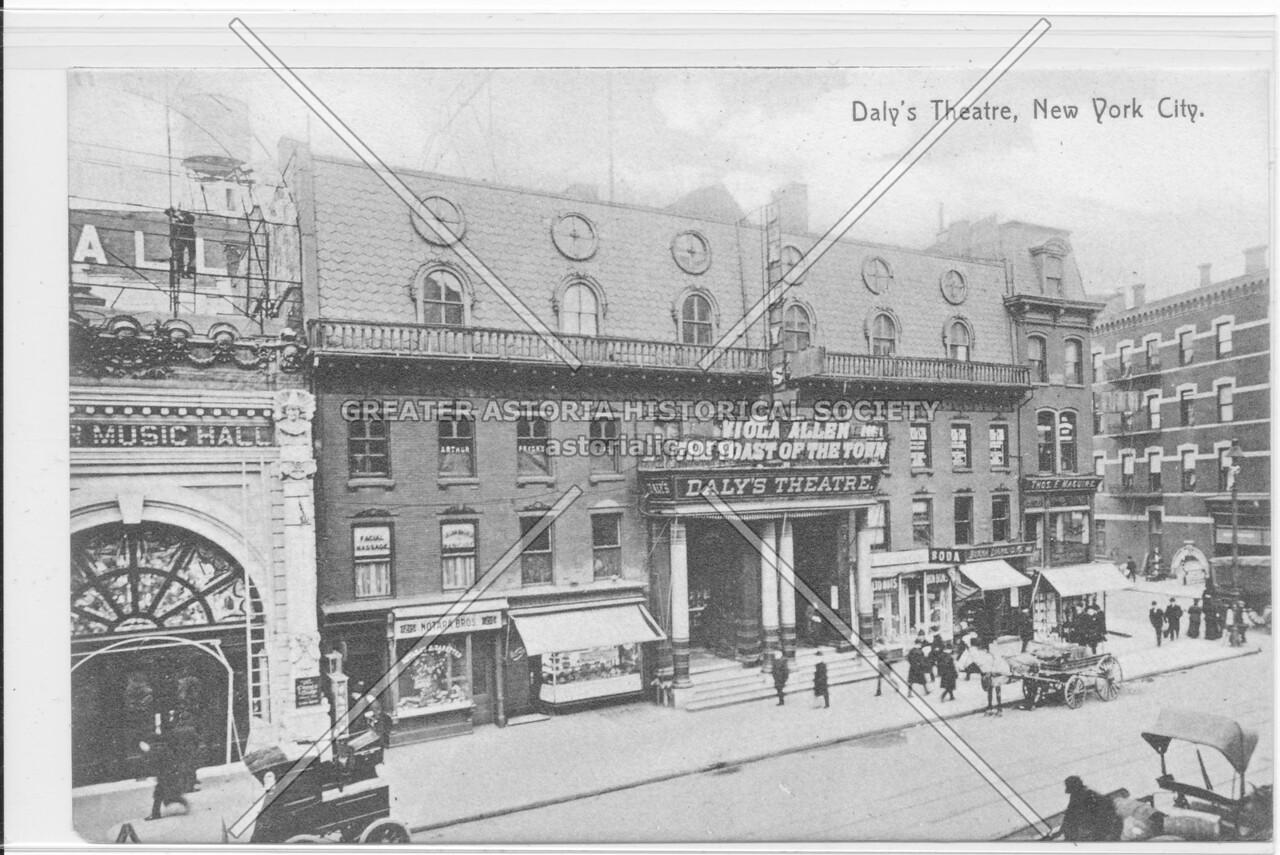Daly's Theatre, New York City.