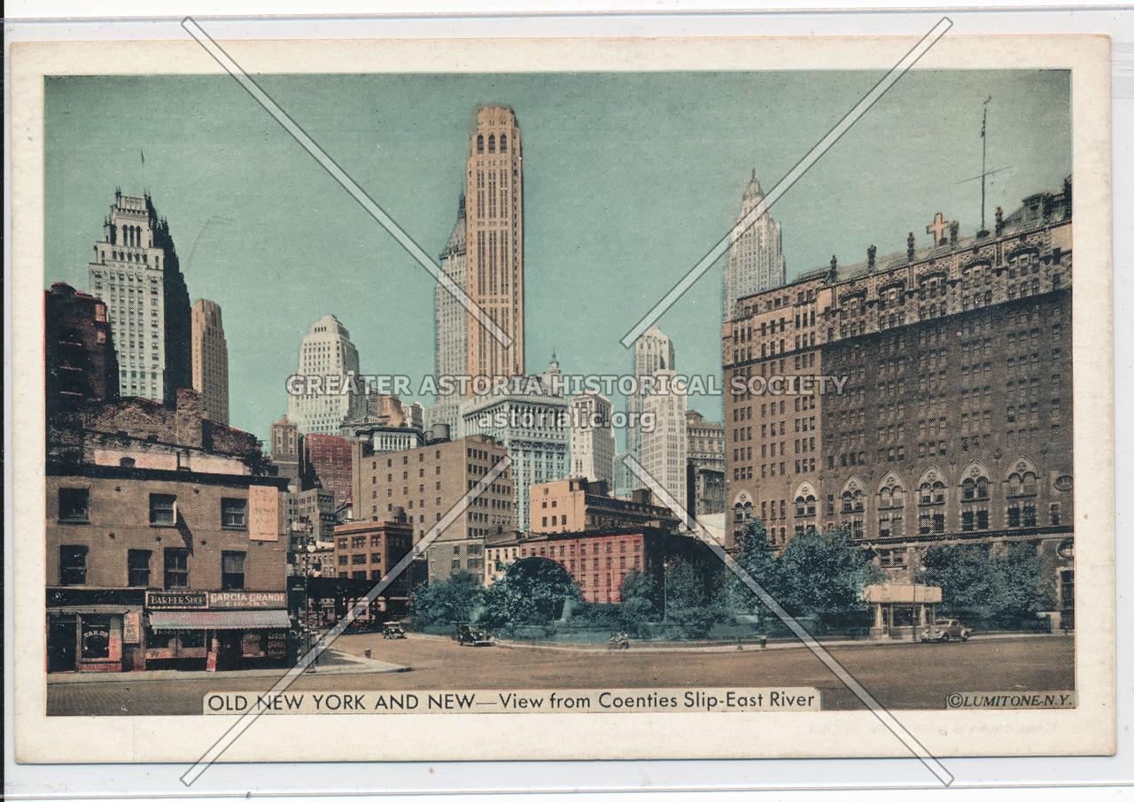 Coenties Slip - Old NY & New