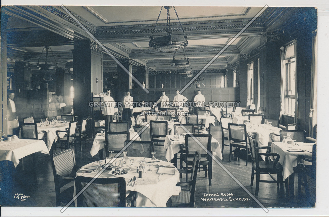 Dining Room, Whitehall Club, NY