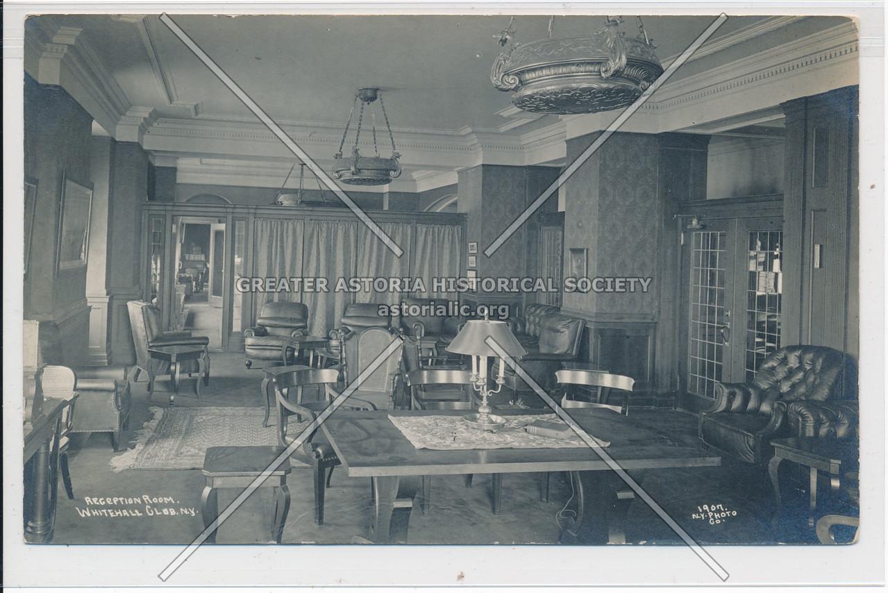 Reception Room, Whitehall Club, N.Y.