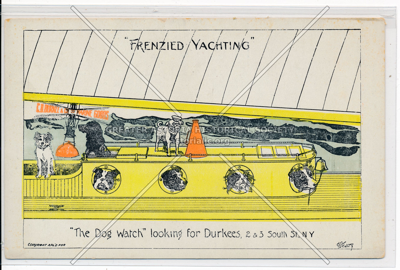 """""""Frenzied Yachting"""" """"The Dog Watch"""" NYC"""