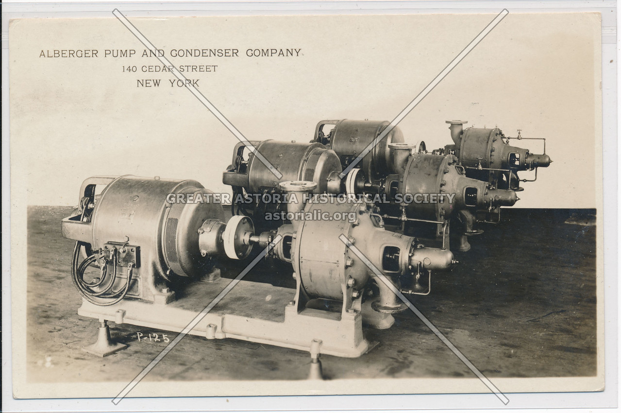 Alberger Pump And Condenser Company