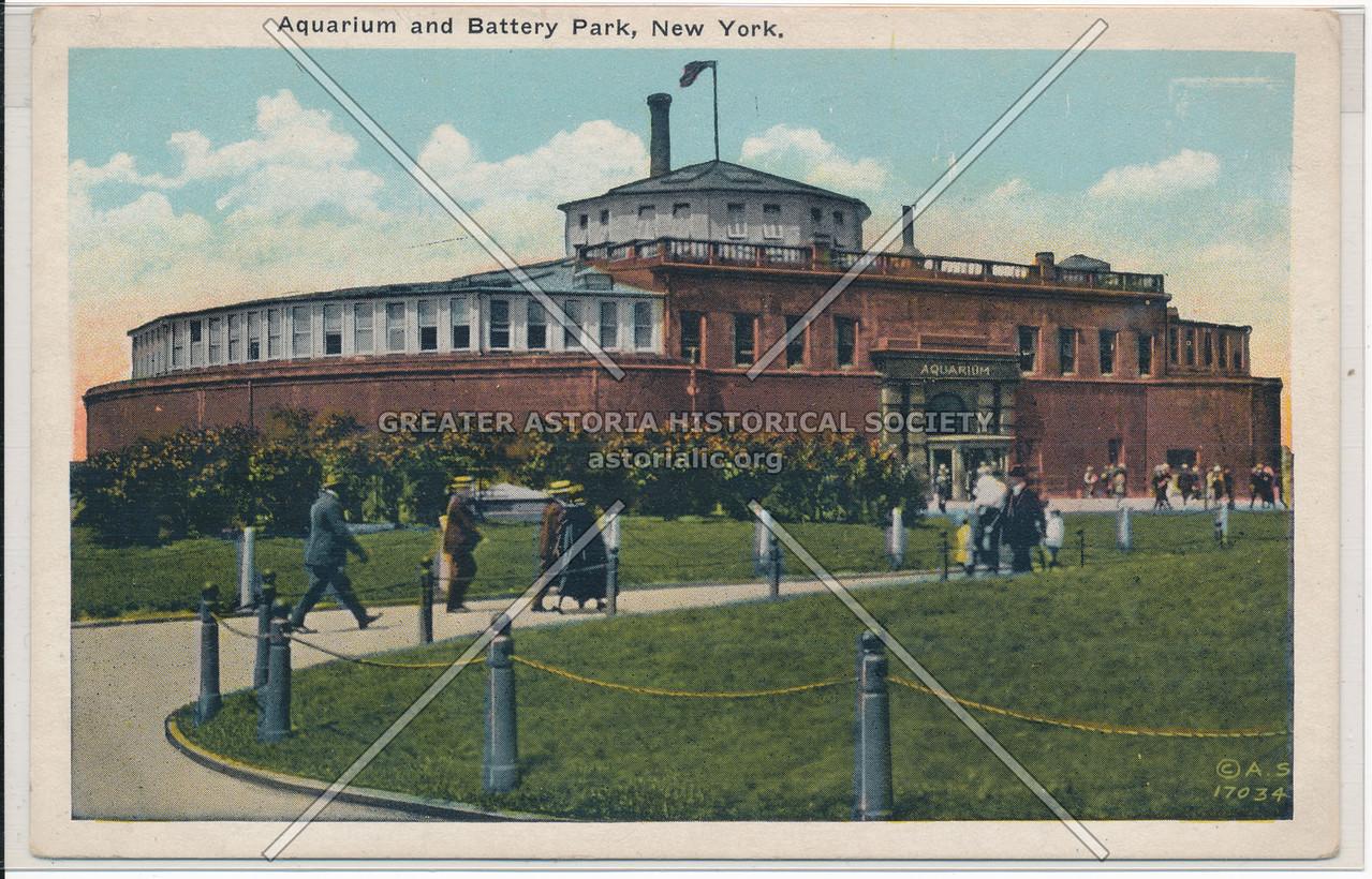 Aquarium and Battery Park, New York