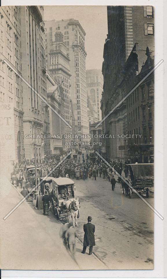 Broad Street & Wall St
