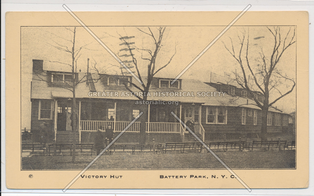 YMCA - Battery Park, Victory Hut, N.Y.C.