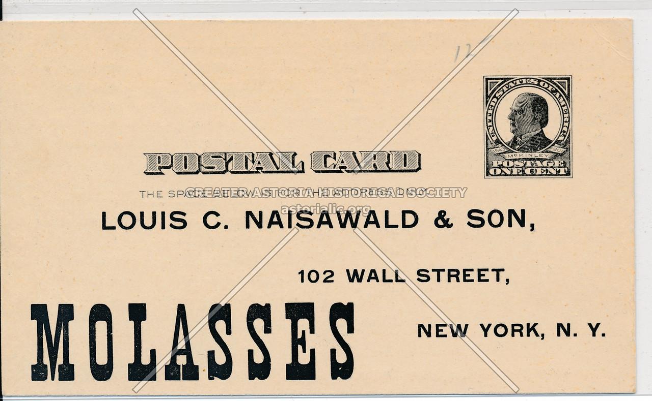Molasses Ad Card