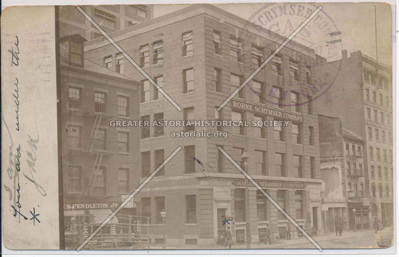 Borne Scrymser Company, 80 South Street, NY