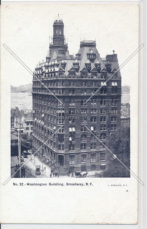 No. 32- Washington Building, N.Y.