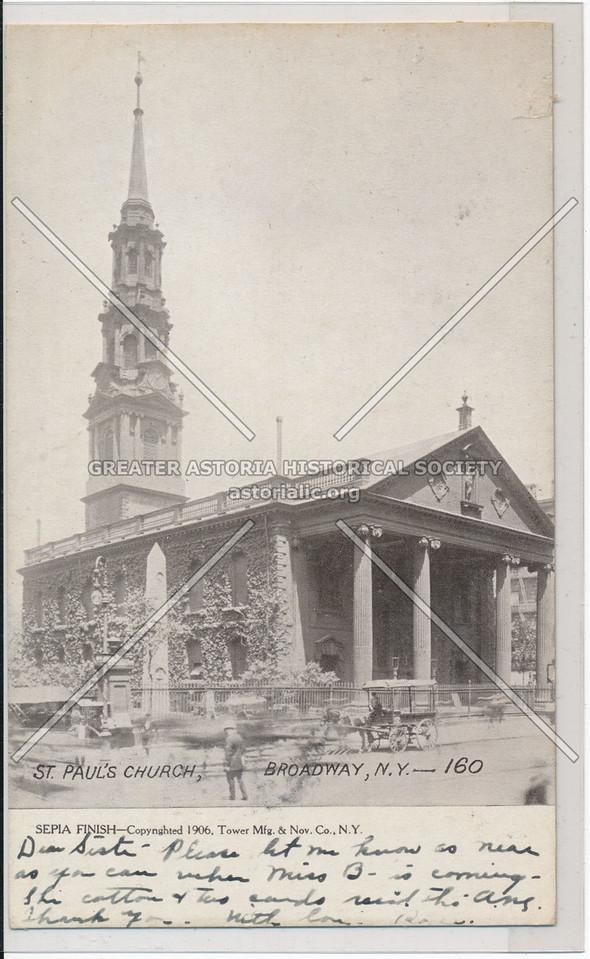 St Paul's Church 1906