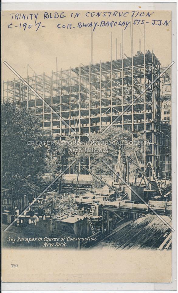 Trinity Bldg In Construction, C-1907