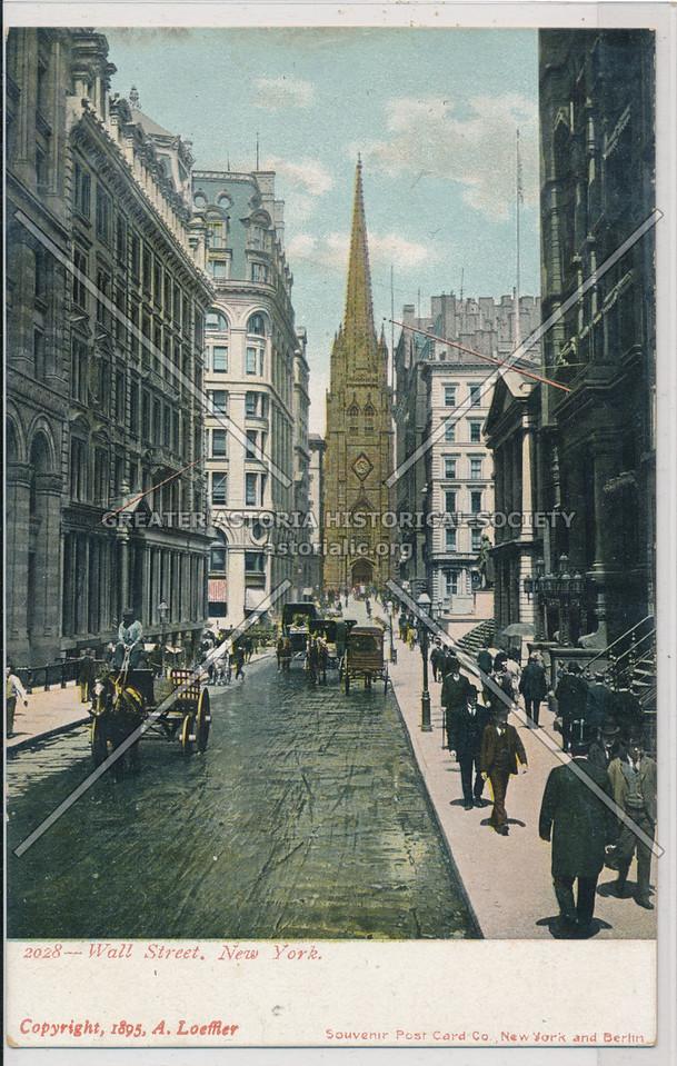2028- Wall Street, New York
