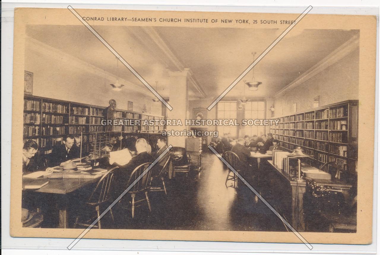 Conrad Library- Seamen's Church Institute Of New York