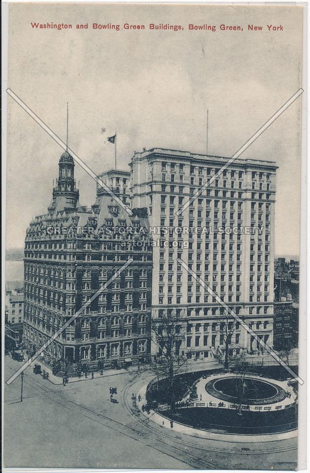 Washington and Bowling Green Buildings, Bowling Green, New York