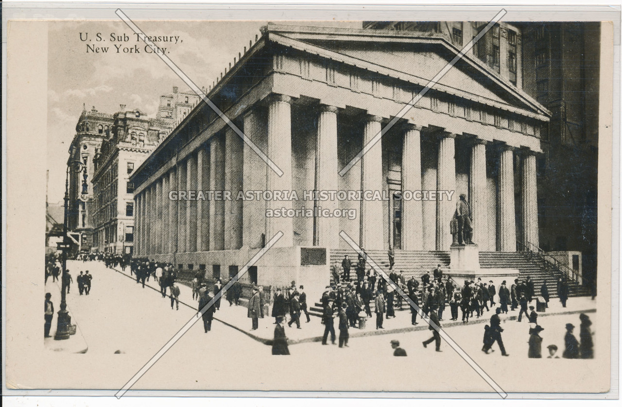 U.S. Sub Treasury, New York City