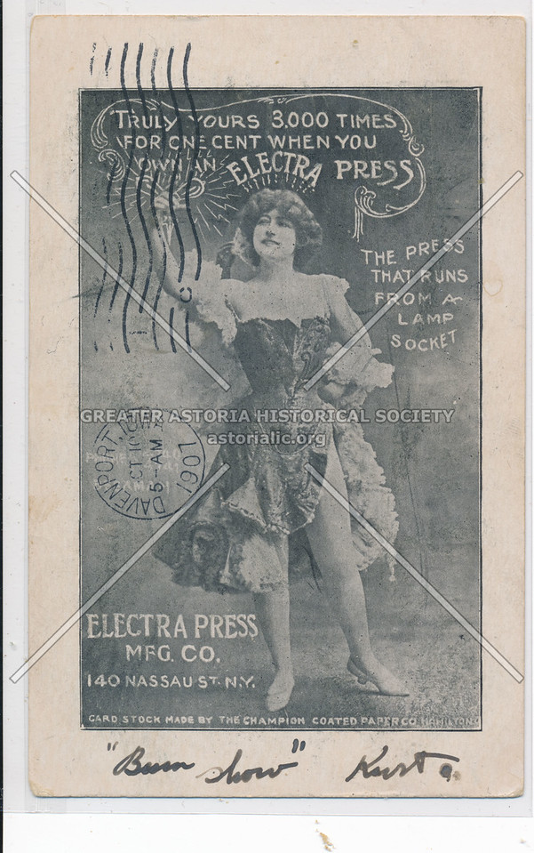 Electra Press Mfg. Co.