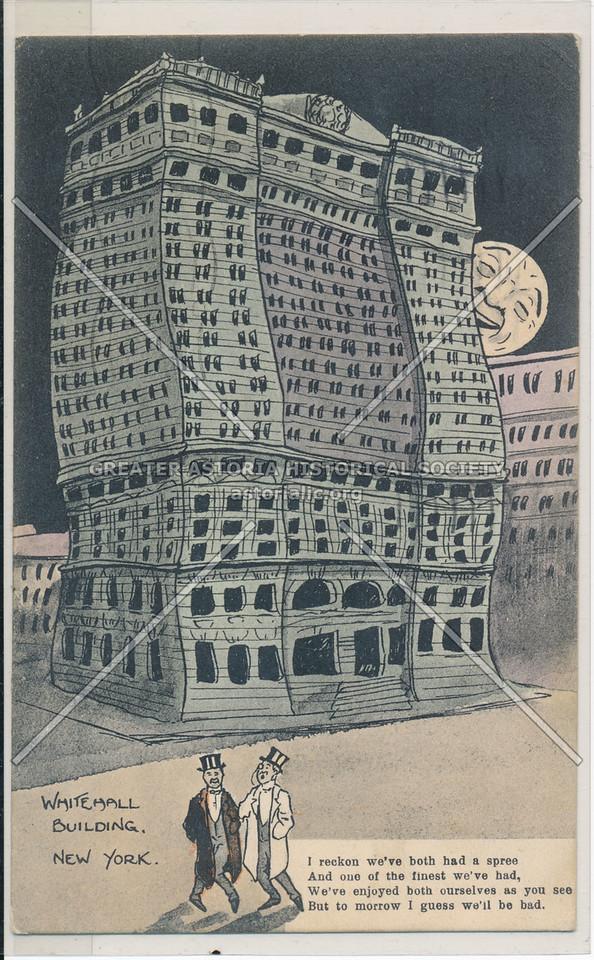 Whitehall Building, New York (cartoon)