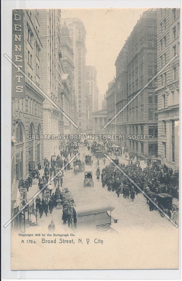 Broad Street, N.Y. City