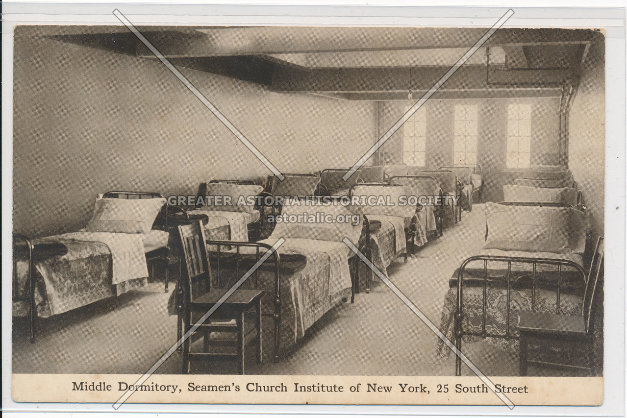 Middle Dormitory, Seamen's Church Institute of New York, 25 South Street