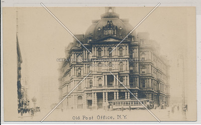 Old Post Office, N.Y.
