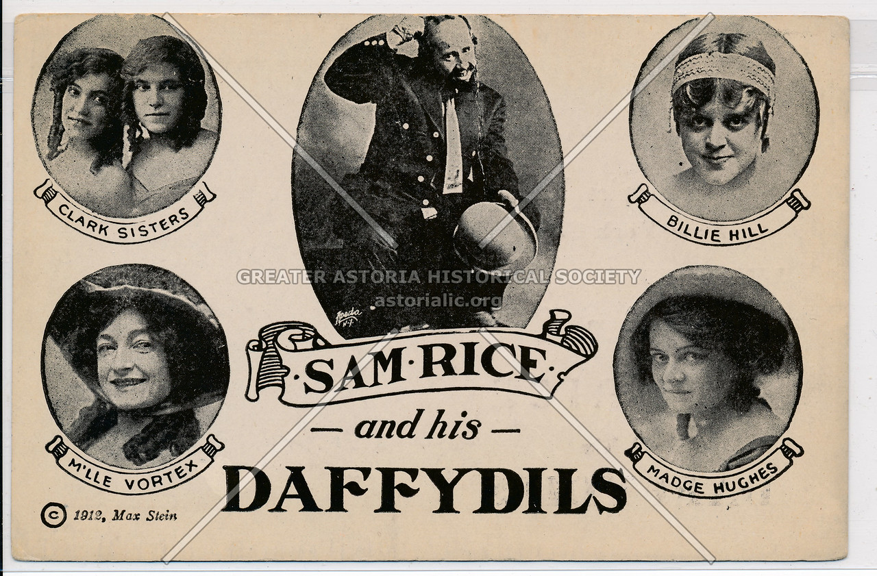 Sam Rice and his Daffydils