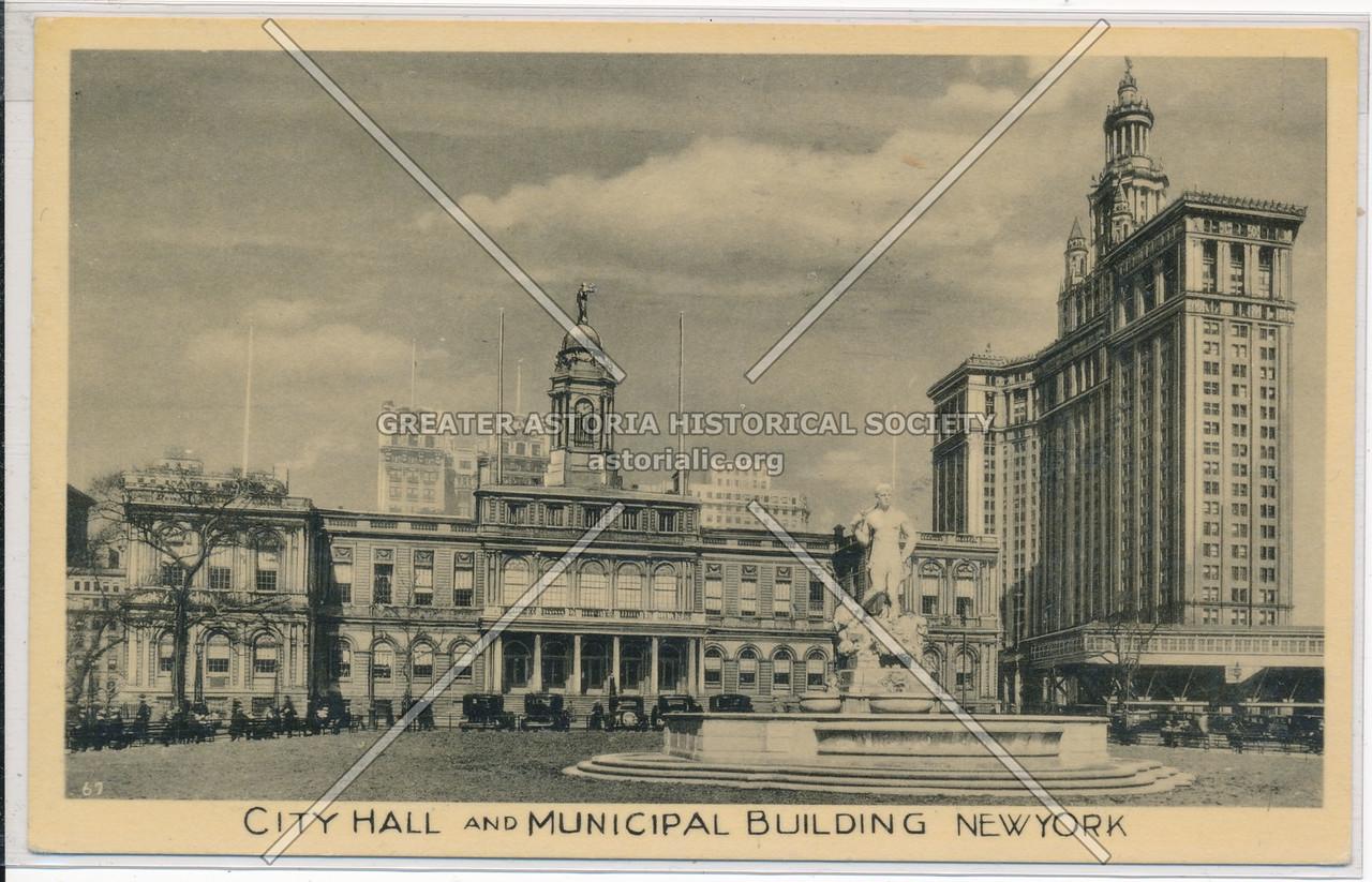 City Hall And Municipal Building, New York