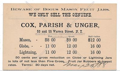 Cox, Parish & Unger