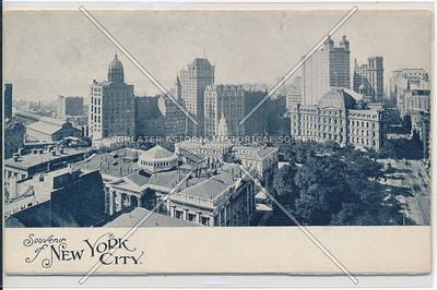 Souvenir of New York City: Front