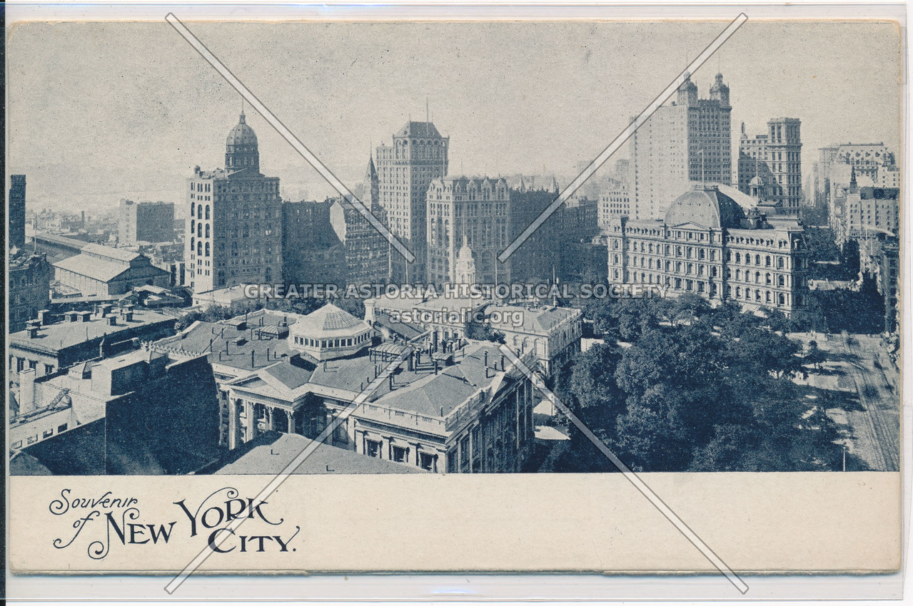 Souvenir of New York City: Front