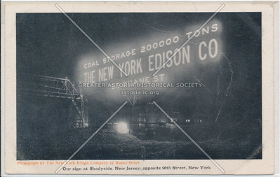 Coal Storage 200000 Tons, The New York Edison Co.