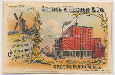 George V. Hecker & Co., Croton Flour Mills