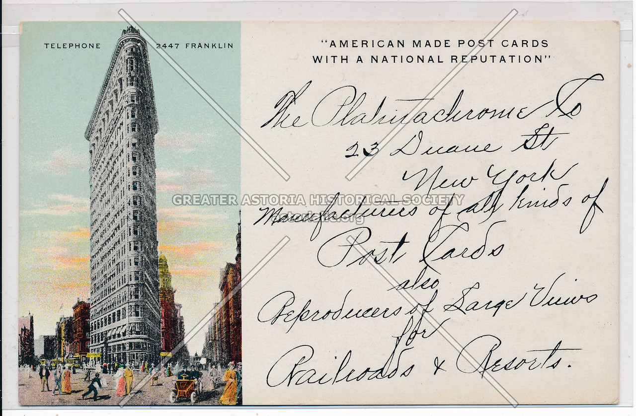 """American Made Post Cards With A National Reputation"""