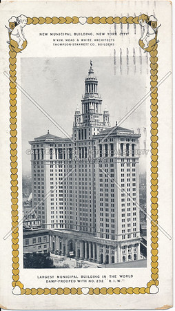 New  Municipal Building, New York City