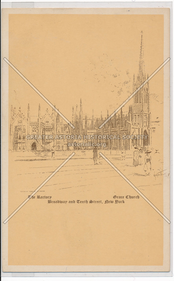 Grace Church: The Rectory, Broadway and Tenth Street, New York