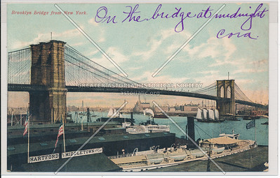Brooklyn Bridge from New York