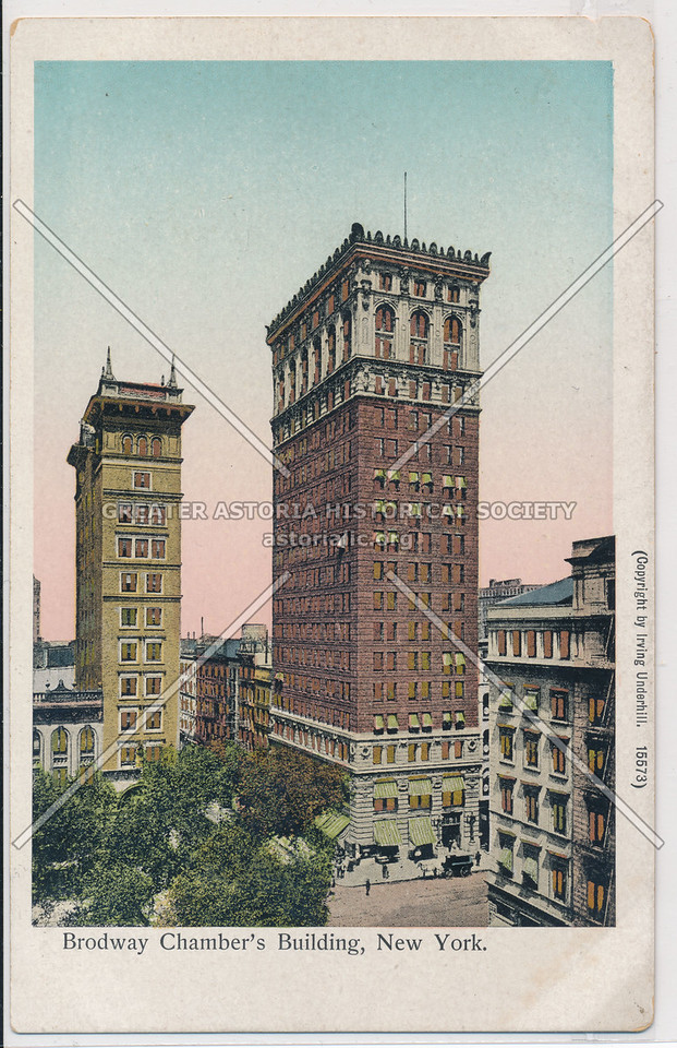 Broadway Chamber's Building, New York.