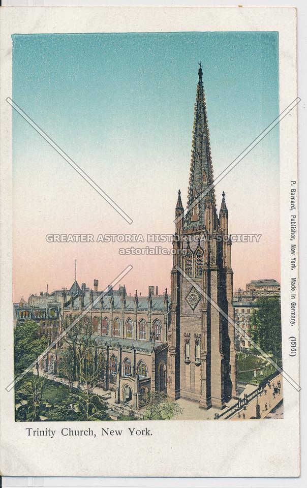 Trinity Church, New York.