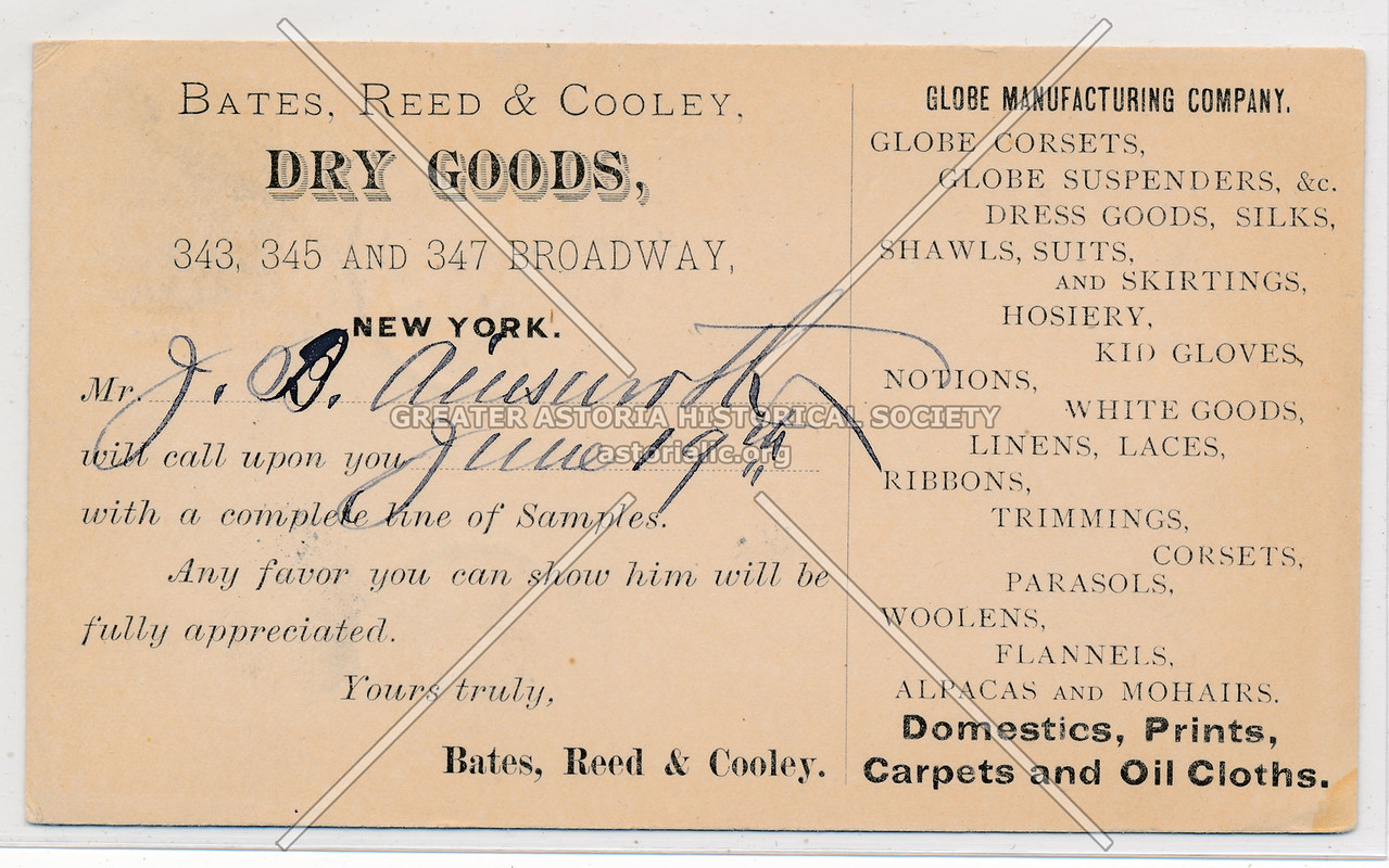 Bates, Reed, & Cooley Dry Goods