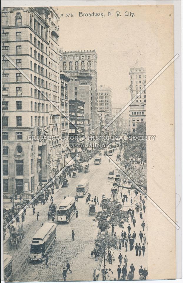 Broadway, N.Y. City
