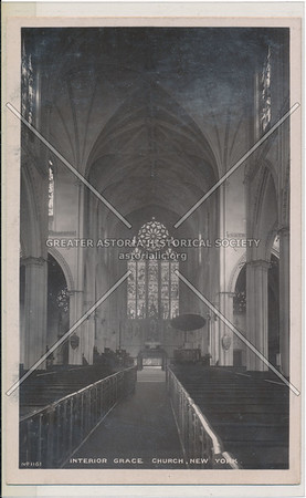 Interior Grace Church, New York