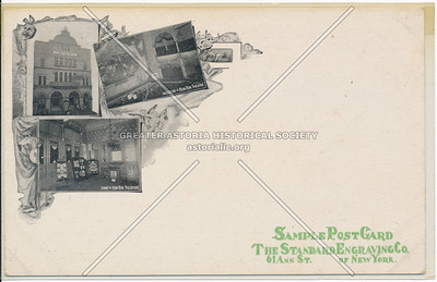 Sample Post Card, The Standard Engraving Co.