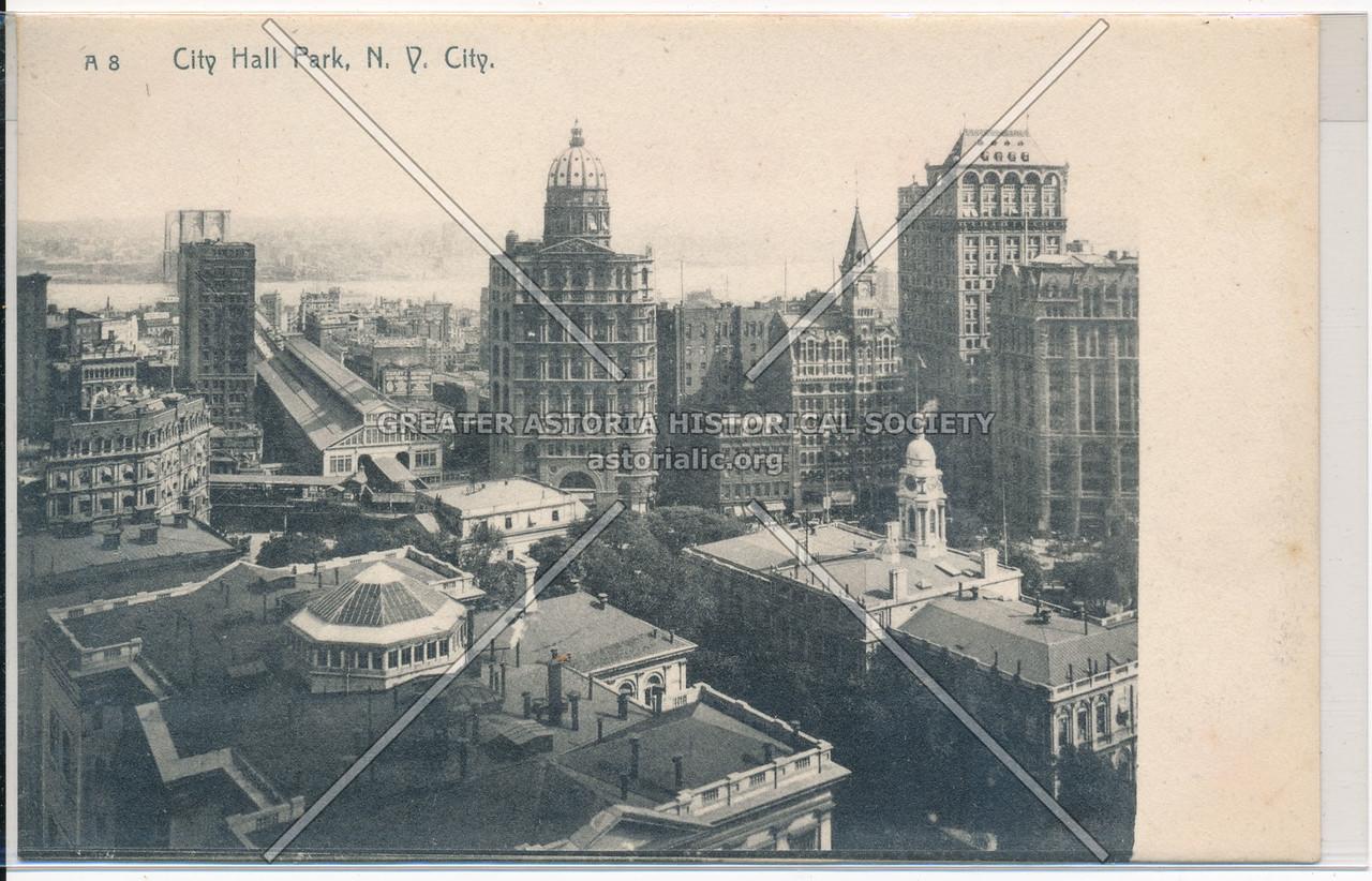 City Hall Park, N.Y. City