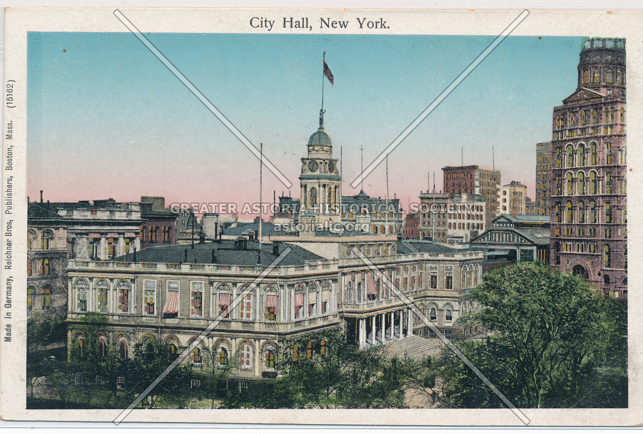 City Hall, New York.