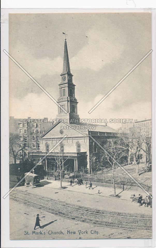 St. Mark's Church, New York City.