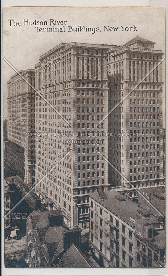 The Hudson River Terminal Buildings, New York