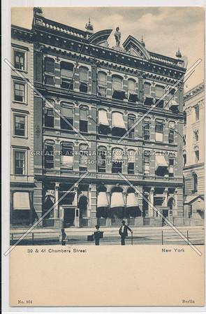 39 & 41 Chambers Street, New York
