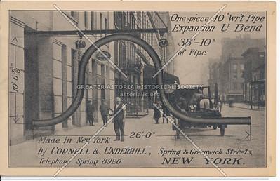 Spring & Greenwich Streets, New York.