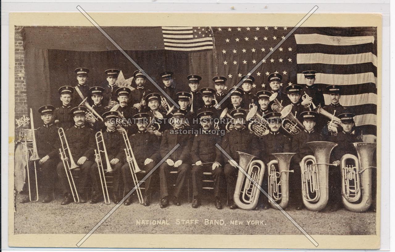 National Staff Band, New York