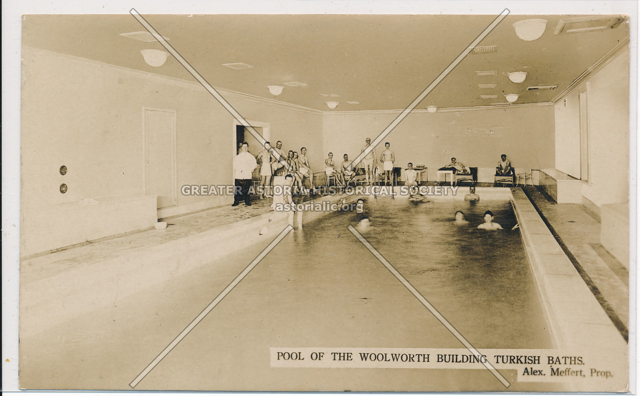 Pool Of The Woolworth Building, Turkish Baths